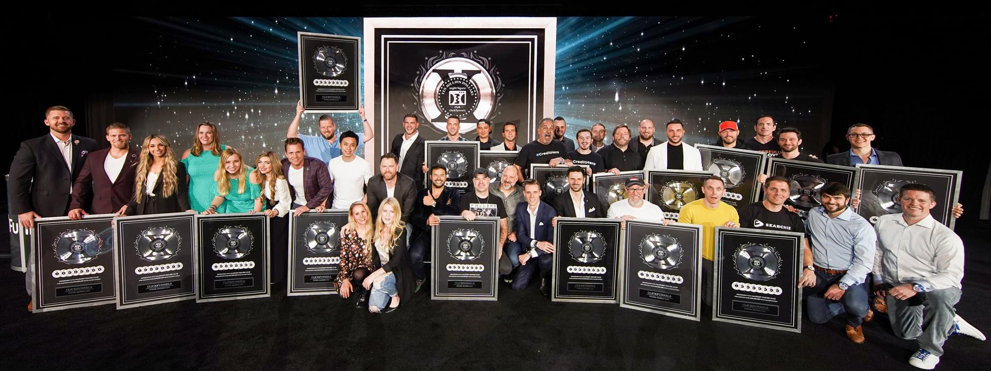 2 comma club award winners
