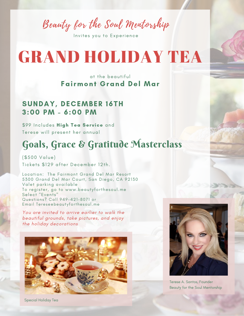 Grand Holiday Tea