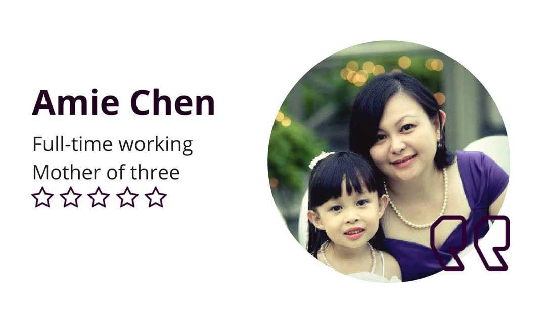 Amie Chen D'Elegance Testimonial: Don't Have To Worry About Tummy Protruding Anymore
