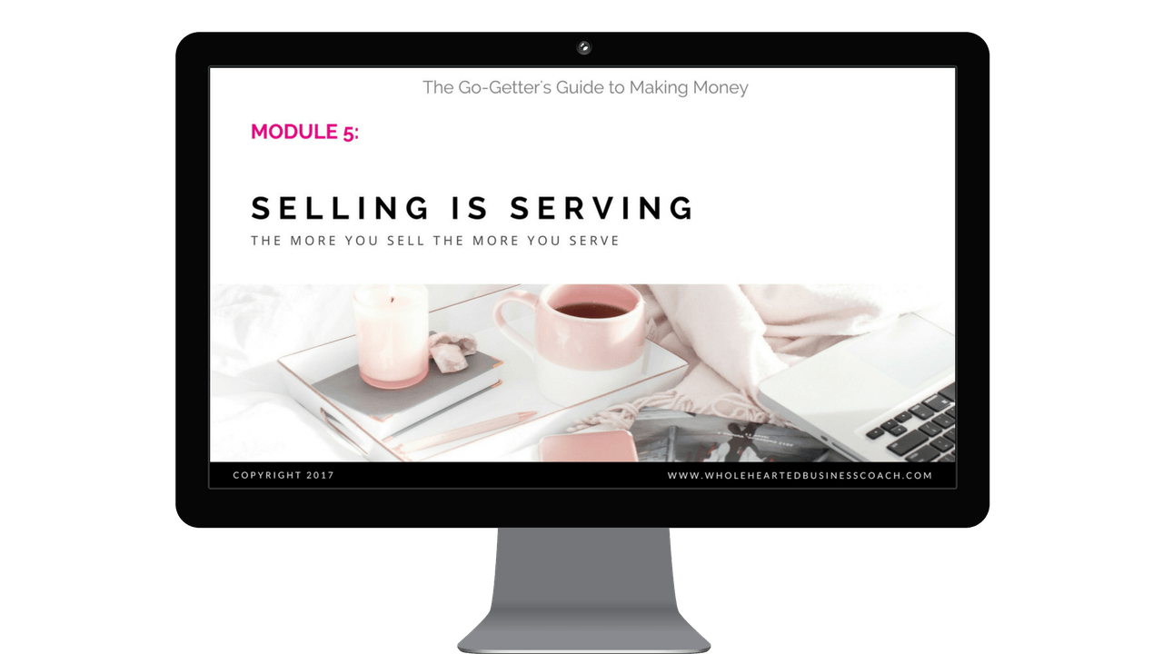 Selling is serving