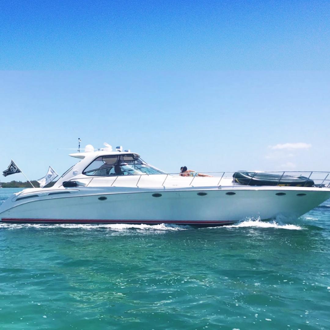 54' sea ray party yacht boat miami