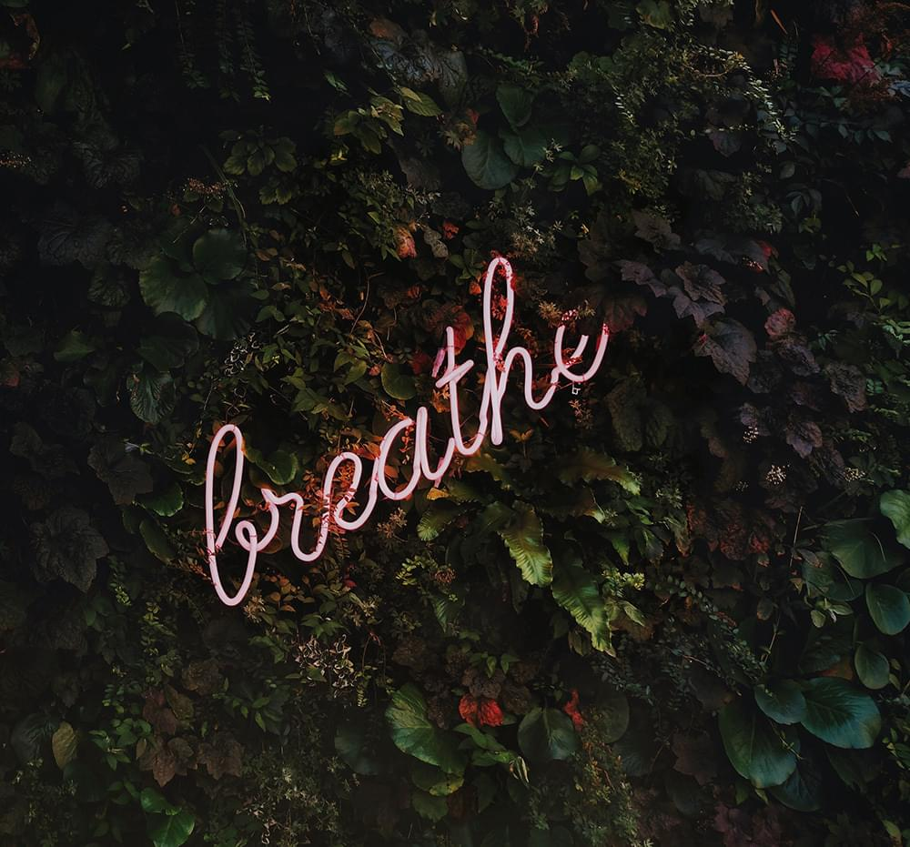 Breathe image on Notes from your intuition