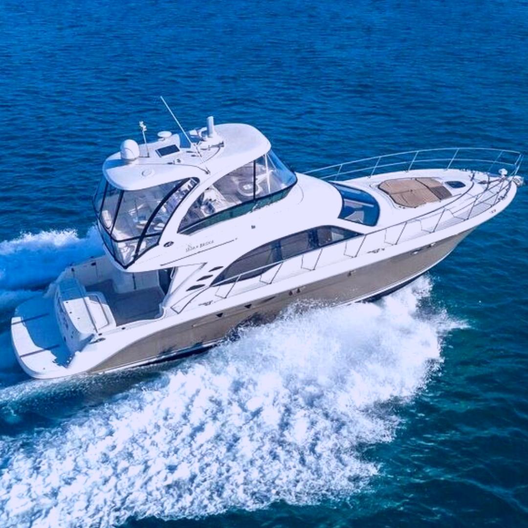 52' Sea Ray party yacht boat miami