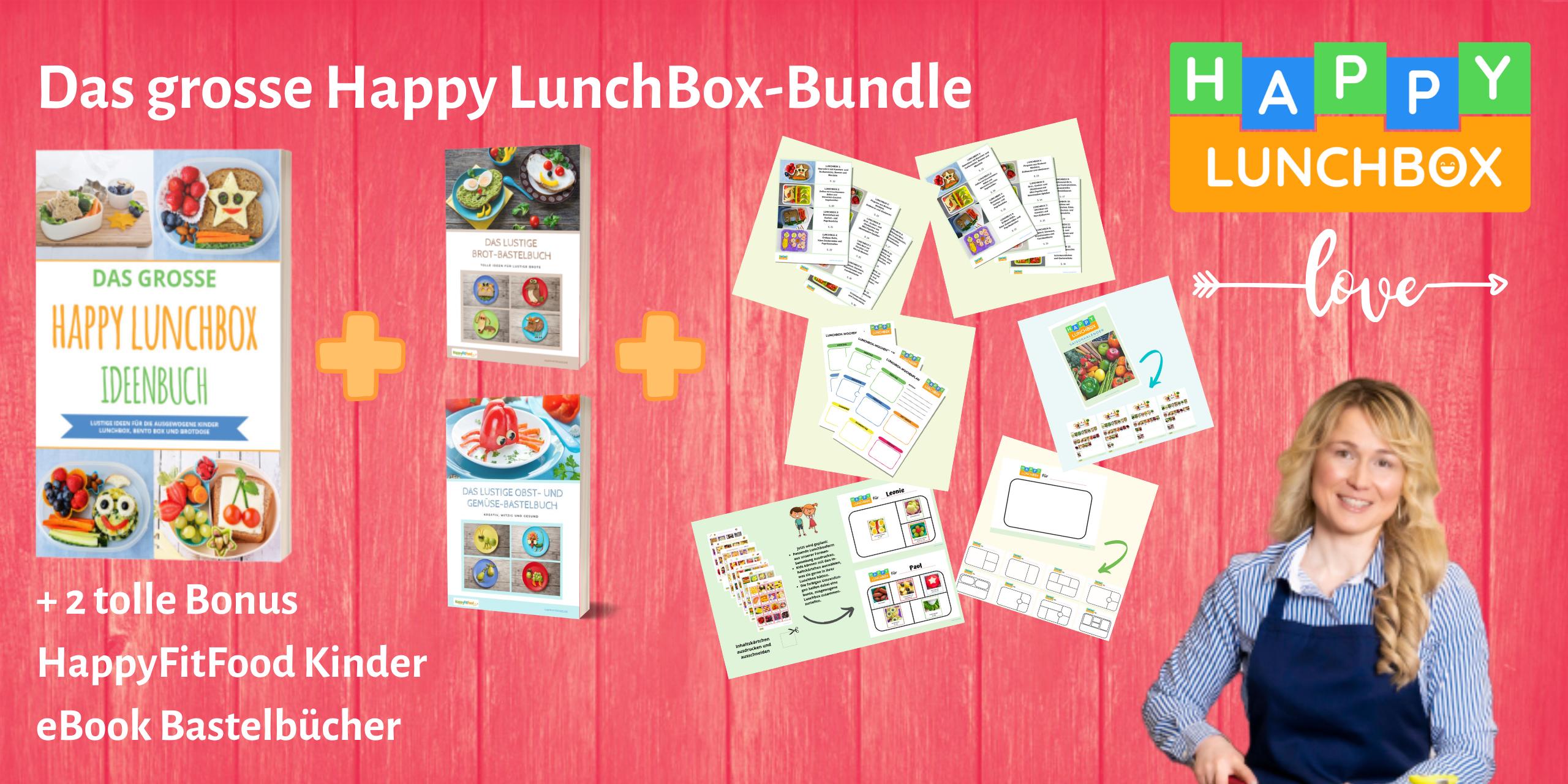 Das große Happy LunchBox-Bundle