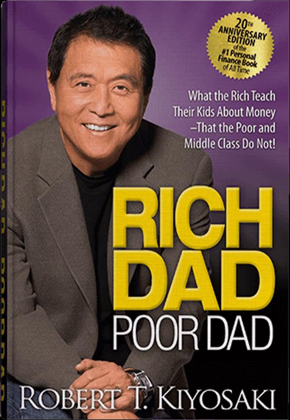 Rich Dad Poor Dad 20th Anniversary edition book image