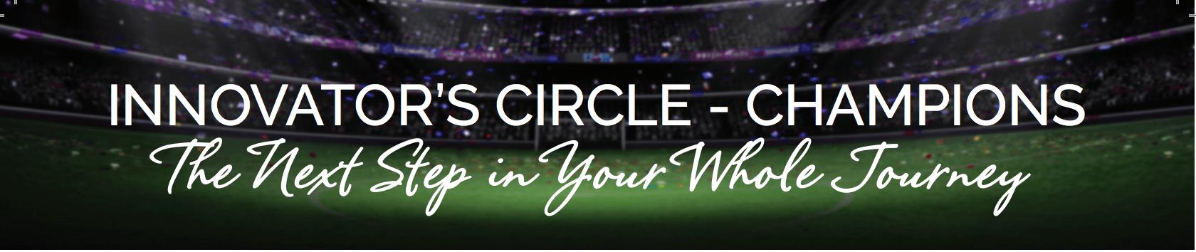 Innovator's Champion Circle