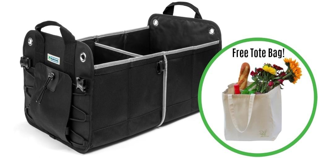 HomePro Goods Car Trunk Organizer and Free Tote Bag Offer