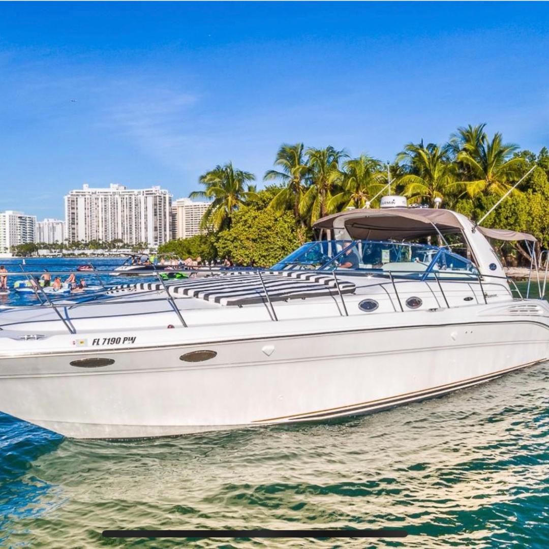 48' sea ray sport party yacht boat miami