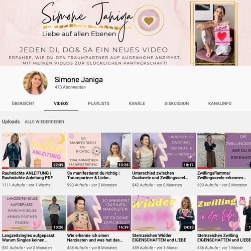 Simone Janiga YouTube