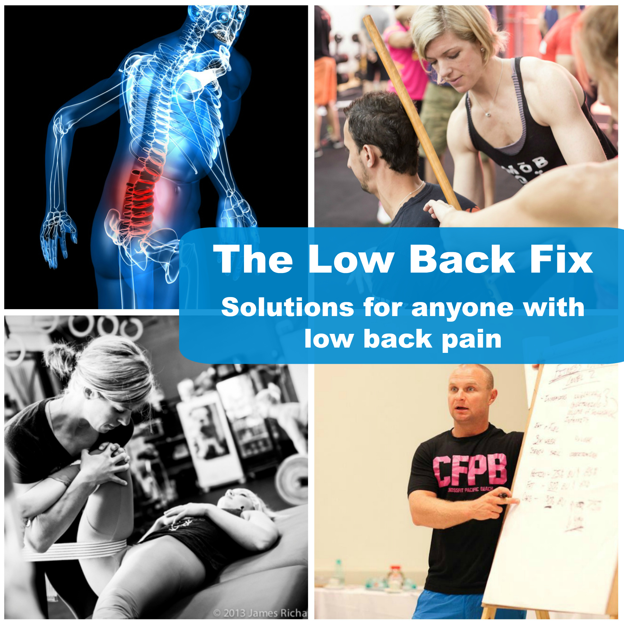about low back fix