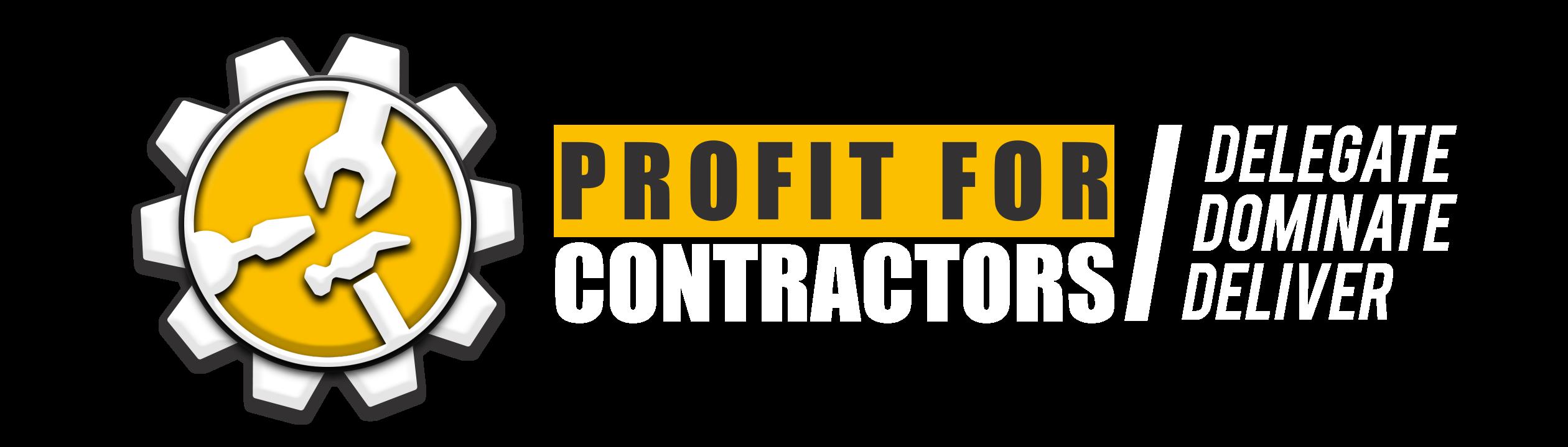 Profit For Contractors