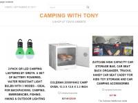 camping with tony