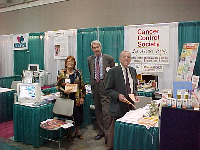 Cancer Control Society Exhibit Booth 2000