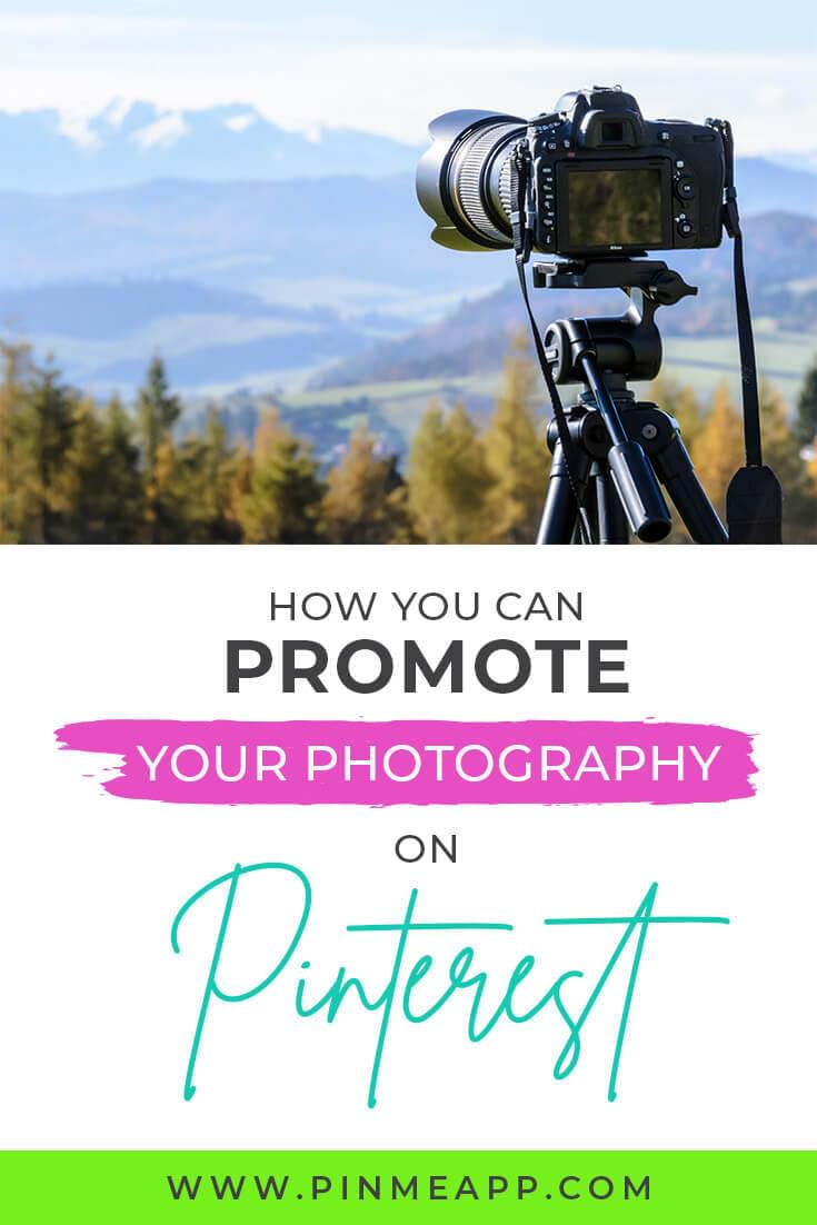 pinterest management, how to promote photography on pinterest
