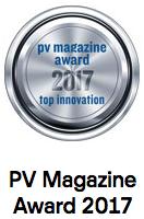 PV Magazine Award 2017