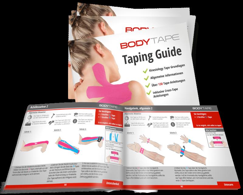 taping guide mit mehr als 100 anleitungen kinesiology tape und cross tape