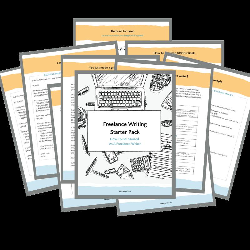 freelance writing starter pack