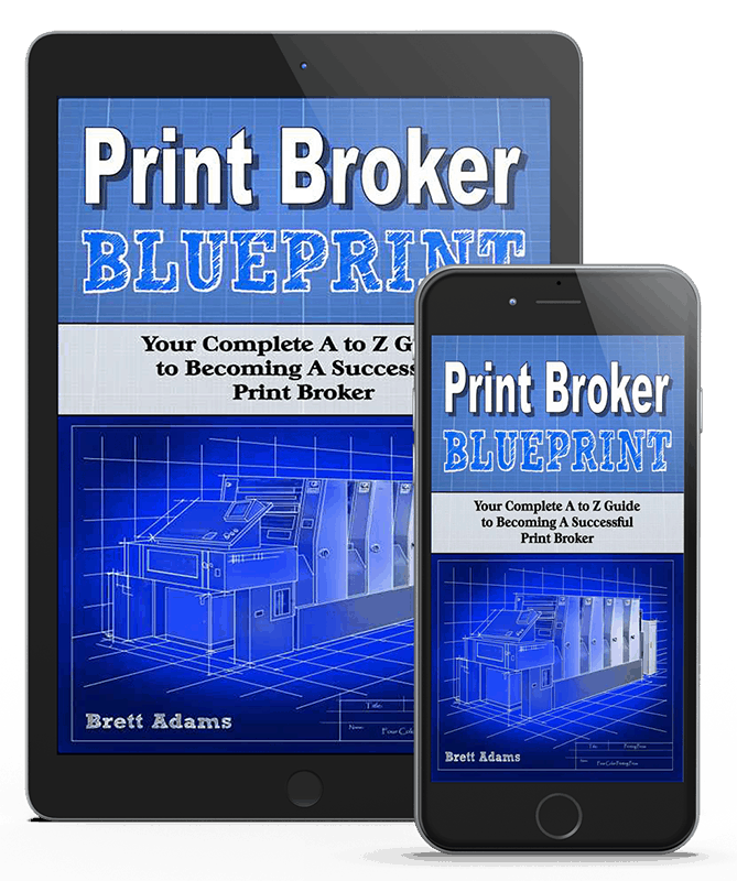 Print Broker Blueprint Book Review