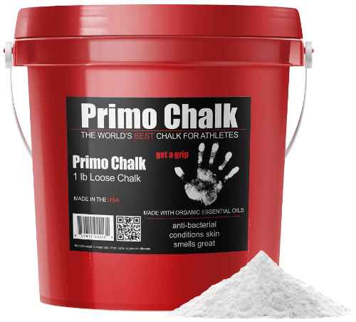 1lb bucket of weight lifting chalk