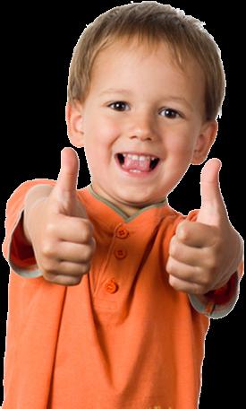Kid Thumbs up