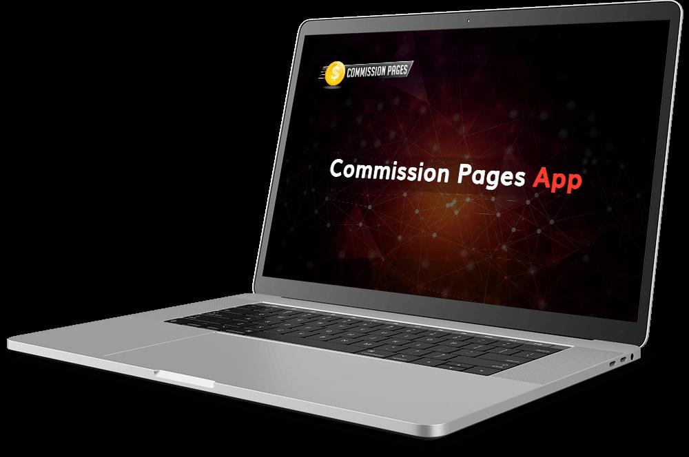 Commission Pages app