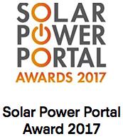 Solar Power Portal Award 2017