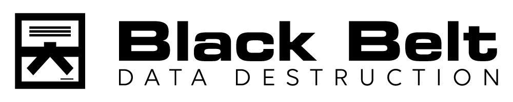 Black Belt Data Destruction Logo