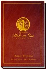 Official Hole in One Register book cover