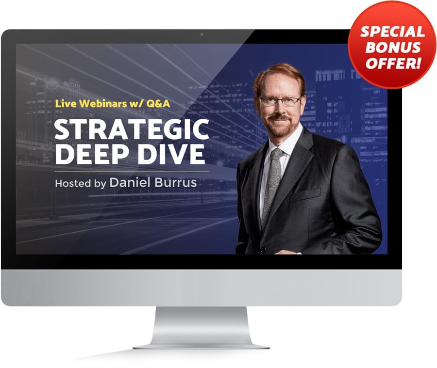 Daniel Burrus' Live Webinar Series: Anticipatory Leader System
