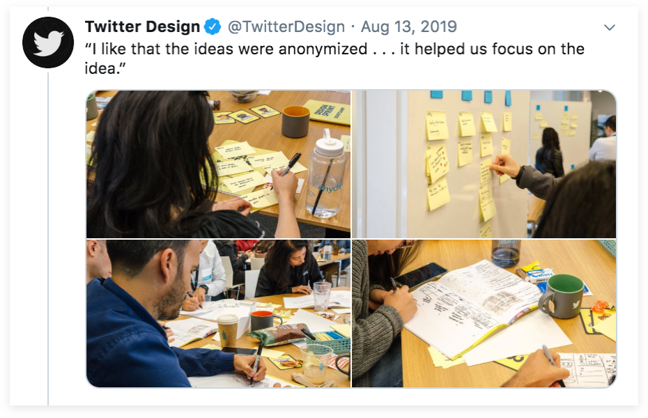 Design Sprint with Twitter