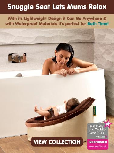Snuggle Seat is Waterproof for Bathroom use
