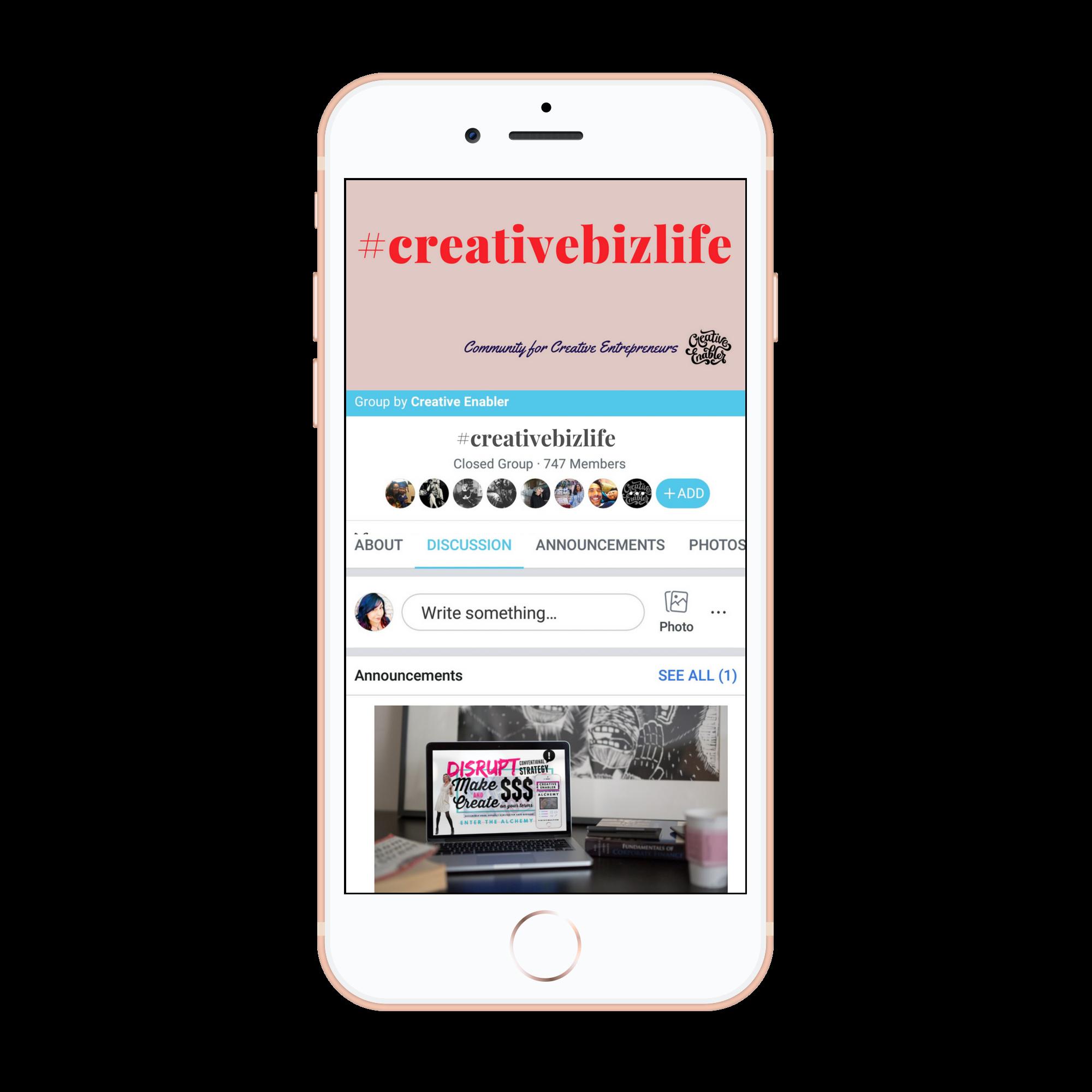 #creativebizlife