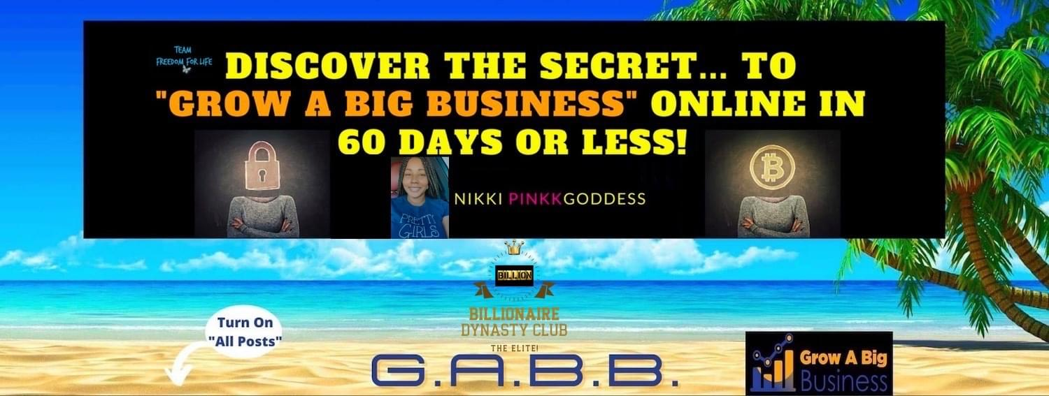 GABB Blueprint- Grow A Business 5 Step Success Blueprint