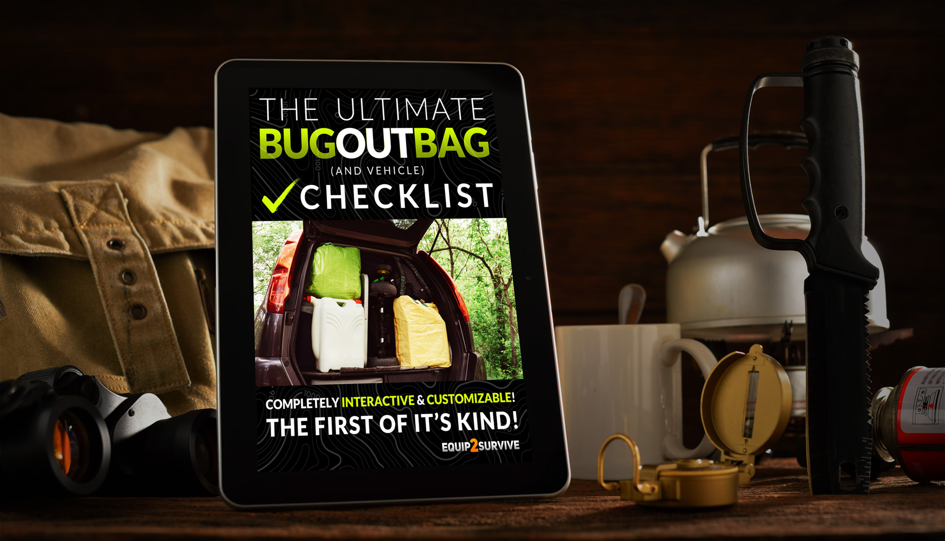 The Ultimate Bug Out Bag Checklist!
