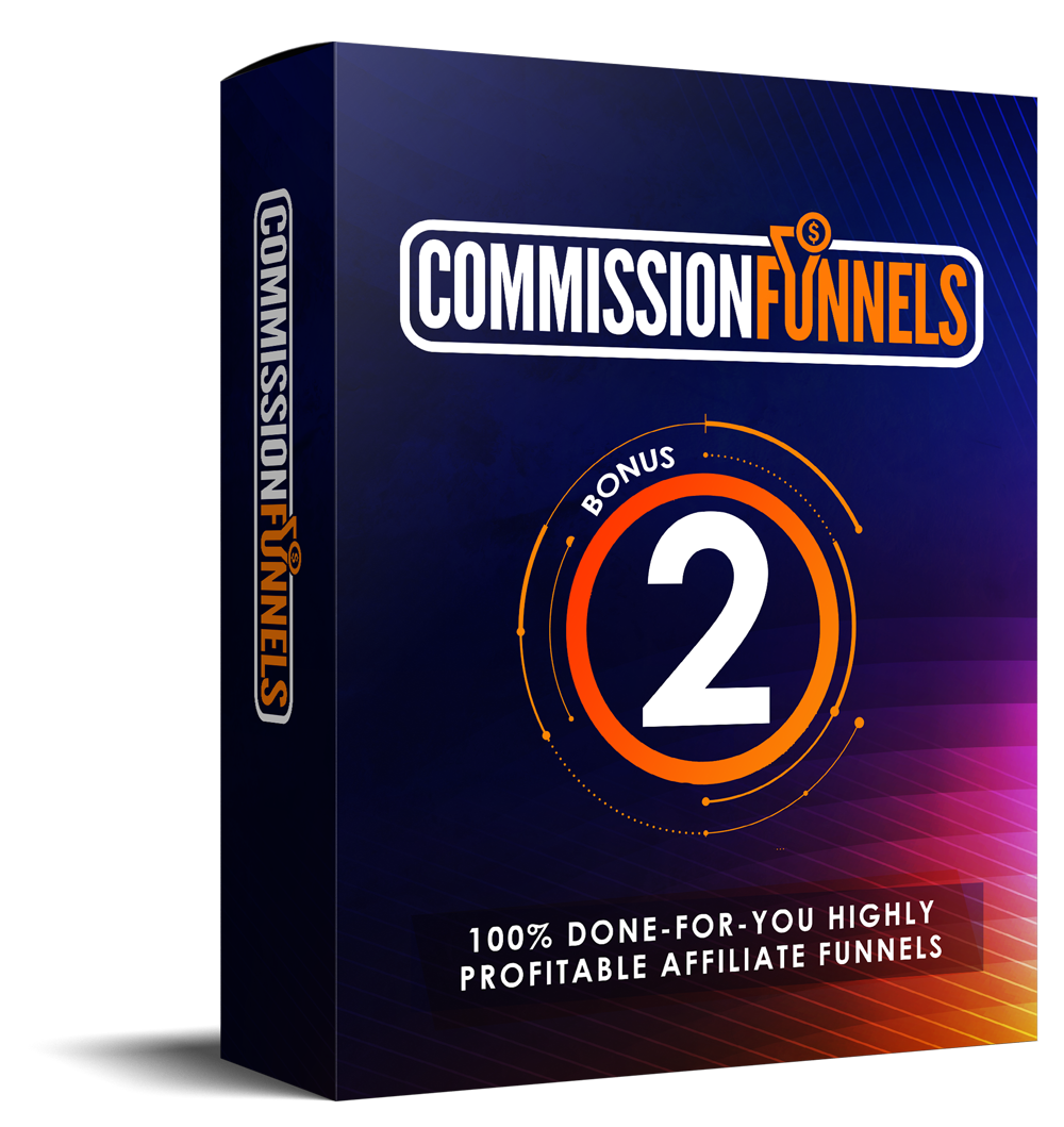 COMMISSION FUNNELS REVIEW: Massive Bonus+Discount+OTO+Demo 8