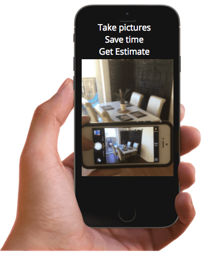 removals to paris -  self survey app