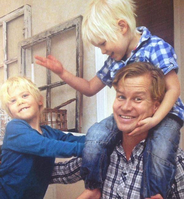 Barnen blir glada av en hälsosam pappa :)