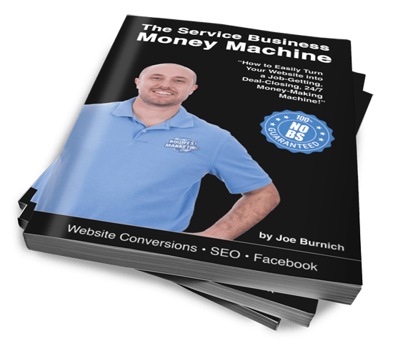 Joe Burnich Author - The Service Business Money Machine