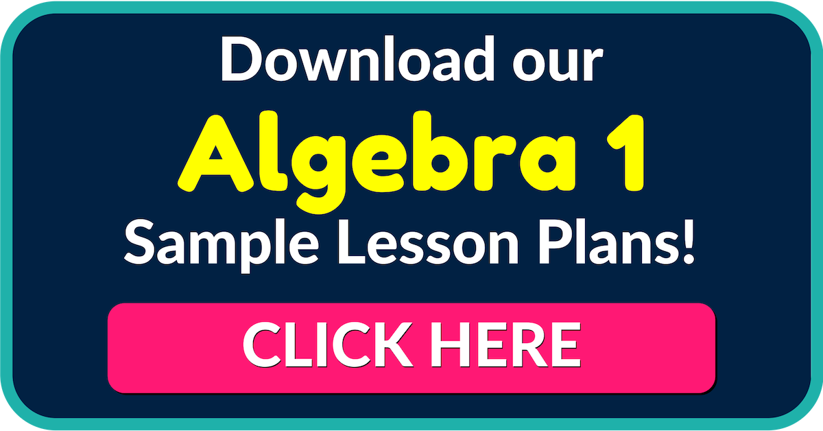 Free Algebra 1 Worksheets