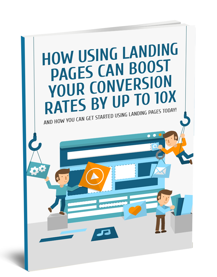 How Using Landing Pages Can Boost Conversions Ebook Cover