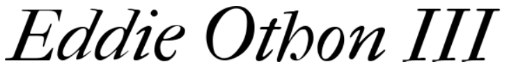 Eddie Othon III
