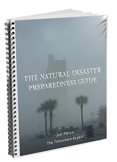 natural disaster preparedness guide, timeshare exchange bible, image, bonus