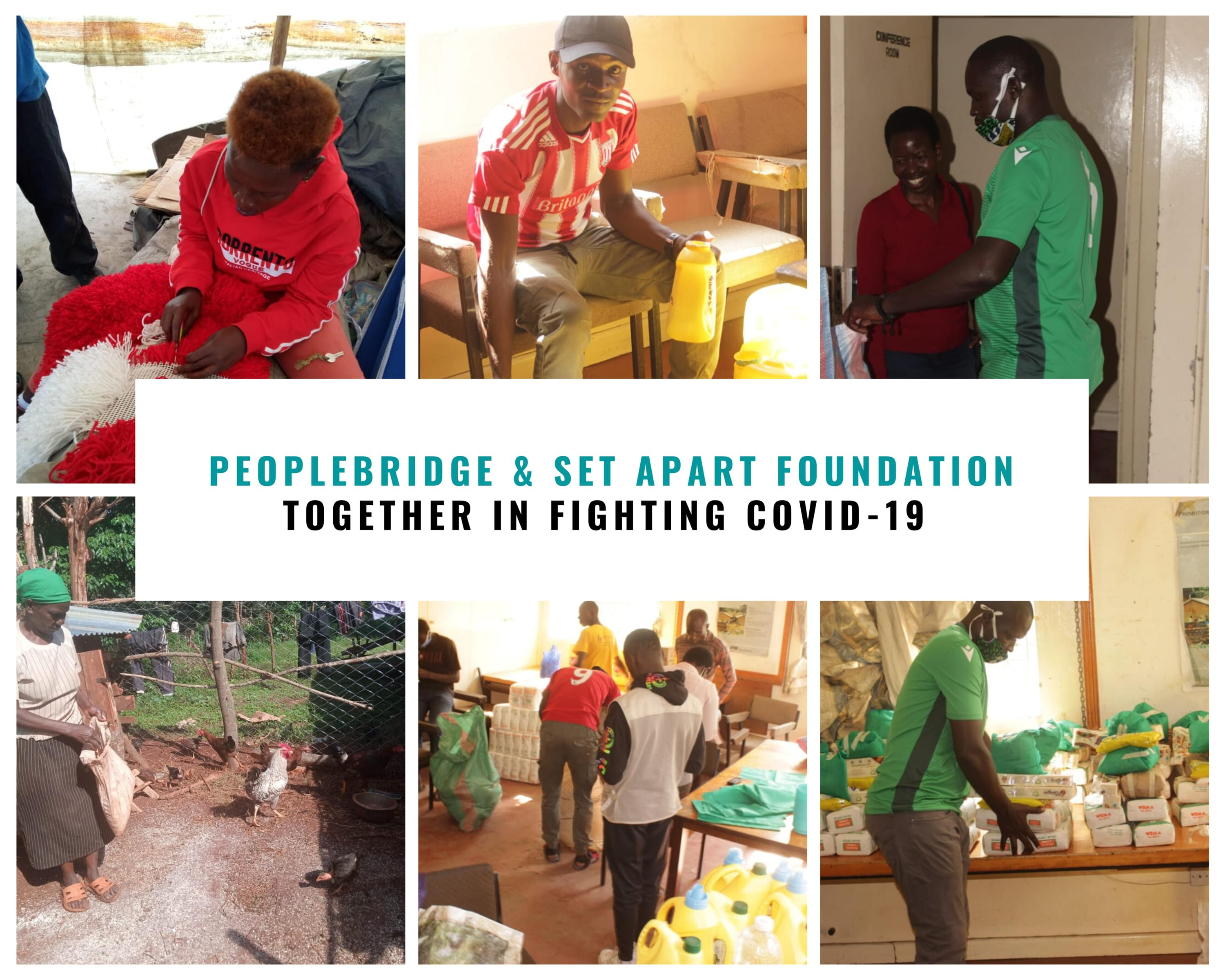 PEOPLEBRIDGE & SET APART FOUNDATION TOGETHER IN FIGHTING COVID-19