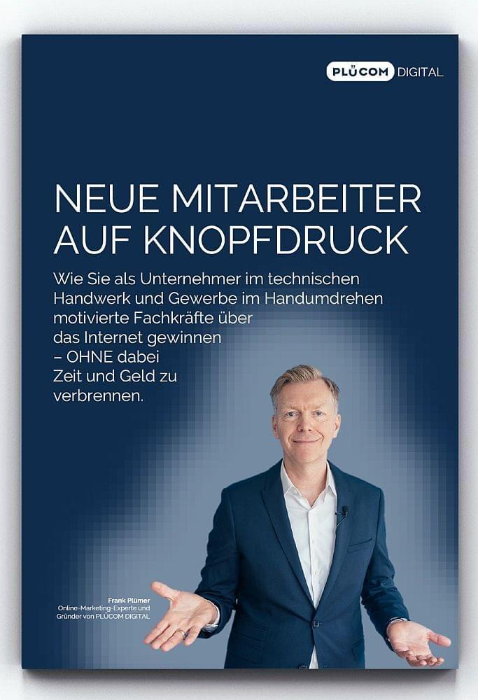 """PLÜCOM DIGITAL REPORT: """"Neue Mitarbeiter auf Knopfdruck"""""""