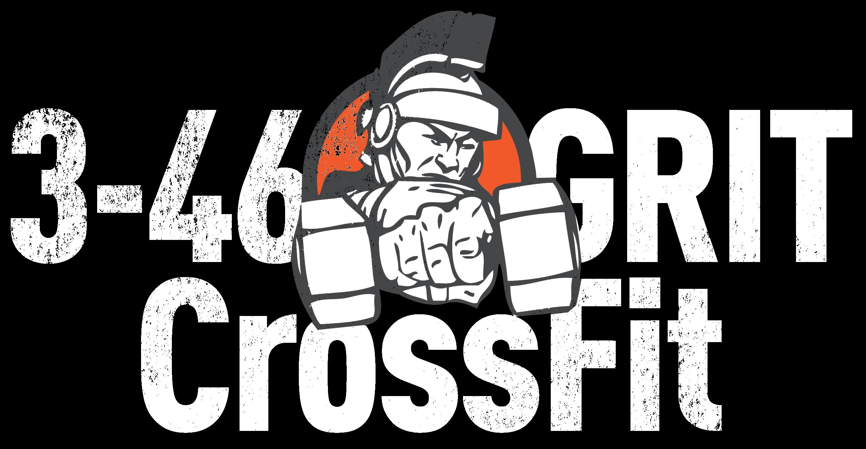 3-46 GRIT CrossFit Logo