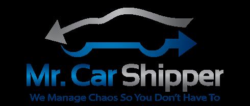 Mr Car Shipper logo for car shipping