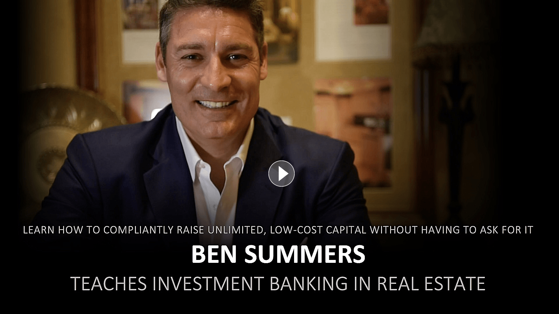 Ben Summers Teaches Investment Banking