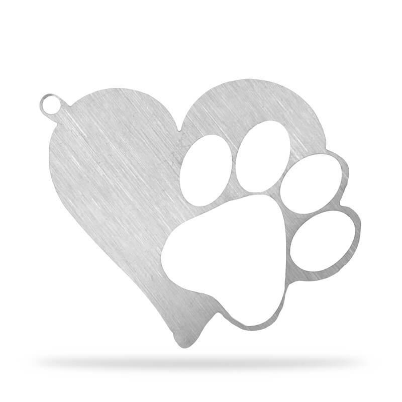FREE Heart Paw Keychain...