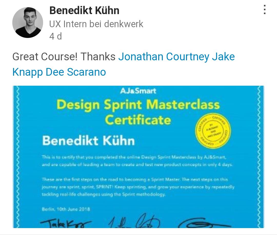 Comments From Benedikt