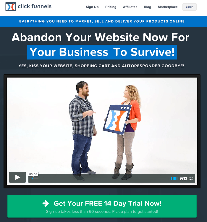 Abandon Your Website Now To Boost Your Sales!